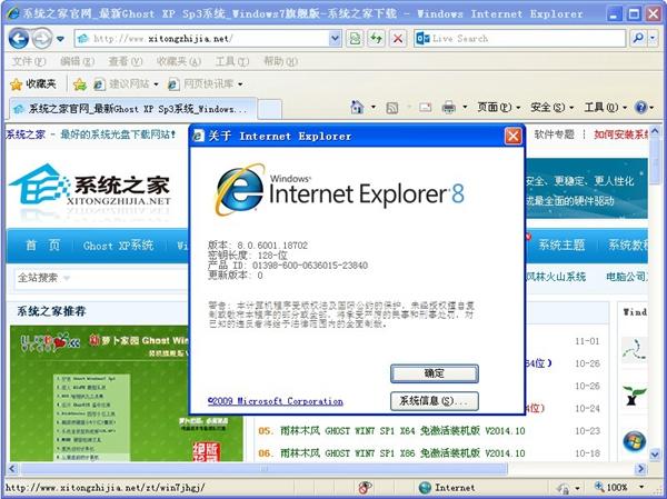 Internet Explorer 8 for WinXP