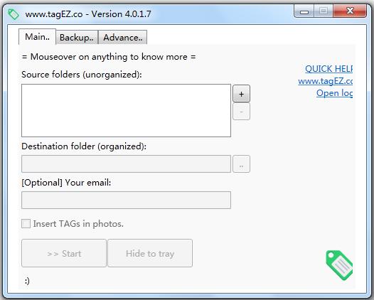 TagEZ(照片分类管理软件) V4.0.1.7 英文版