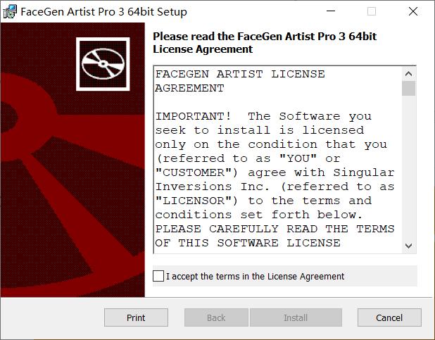 FaceGen Artist Pro3