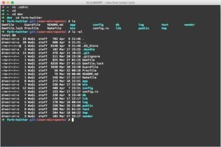 苹果Mac系统常用终端命令整理