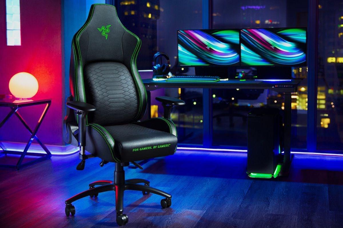 雷蛇推出旗下首款电竞椅 Iskur,约 3300 元