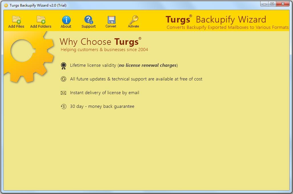 Turgs Backupify Wizard