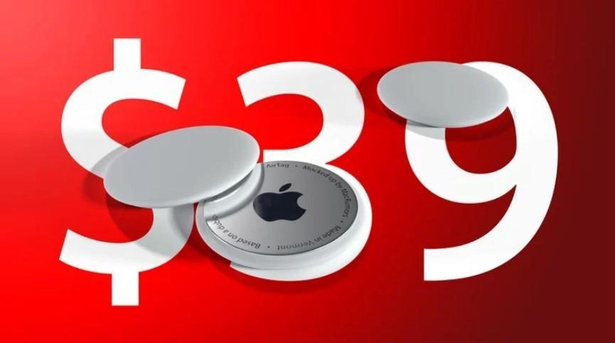 消息称苹果 AirTags 售价 39 美元,直径 32 毫米