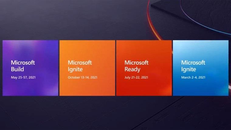 微软确认:将于 5 月 25 日至 27 日举行 Build 2021 在线开发者大会