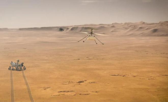 """火星直升机 """"机智号""""将于 4 月 19 日进行首飞"""